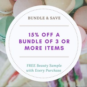 Other - Save 15% When You Bundle 3 or More Items